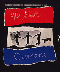 Booklet cover: We Shall Overcome