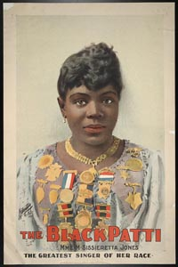 The Black Patti, Mme. M. Sissieretta Jones the greatest singer of her race