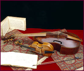 Image of the Wilkins Early Stringed Instrument Collection