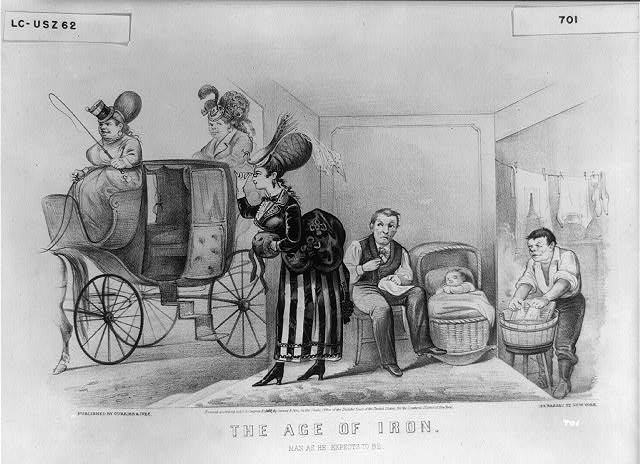 Image result for women's role early 1800s political cartoon