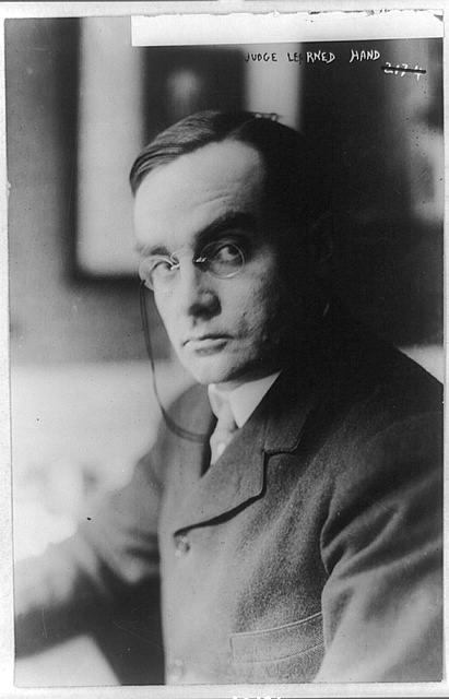 Learned Hand (source: Library of Congress)