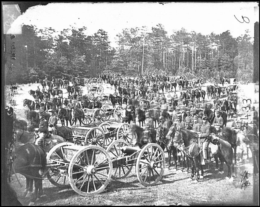 [Fair Oaks, Va., vicinity. Battery M., 2d U.S. Artillery, commanded by Capt. Henry Benson]