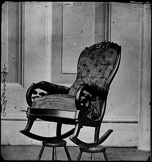 [Washington, D.C. Rocking chair used by President Lincoln in Ford's Theater]