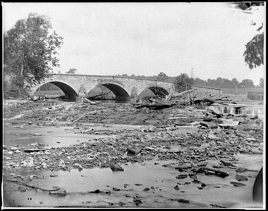 [Antietam, Md. Antietam Bridge on the Sharpsburg-Boonsboro Turnpike]