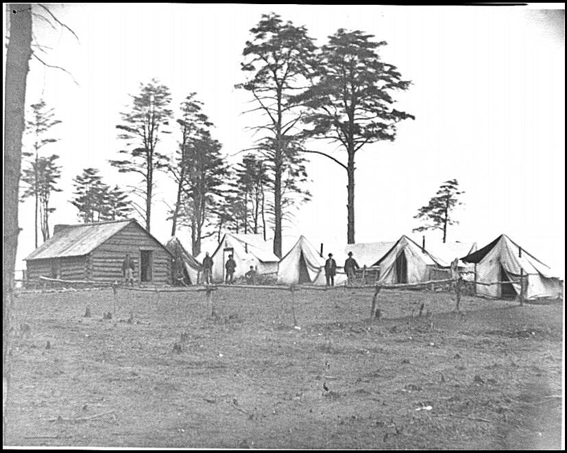 [Brandy Station, Va. Chief Engineer&#39;s camp; another view]