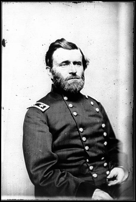 ulysses s grant. Ulysses S. Grant, officer of