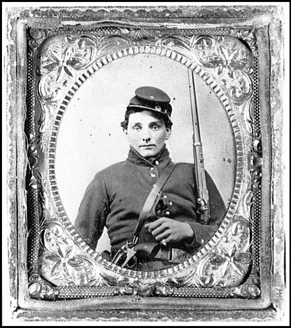 [Portrait of a Federal soldier from New York]