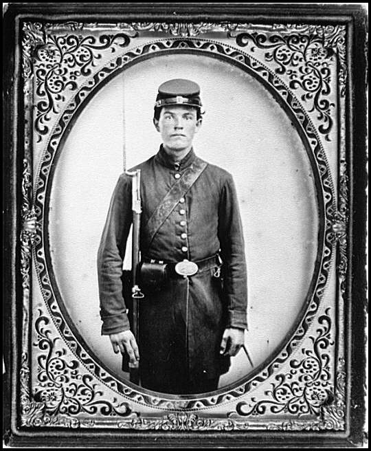 [Portrait of a Federal soldier from Ohio]