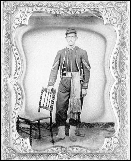 [Portrait of an enlisted man, 23rd Massachusetts Volunteers, Company A]