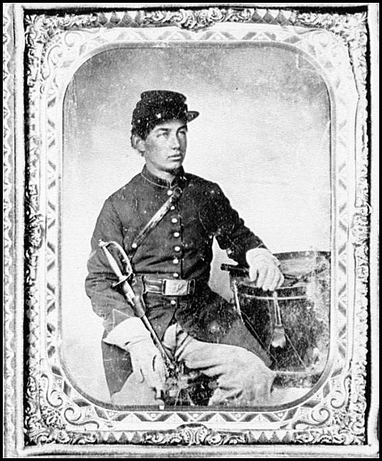 [Portrait of Pvt. George Henry Graffam, Company B, 30th Maine Infantry. U.S.A., age 18]