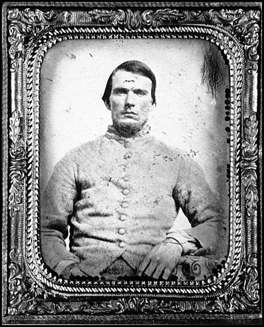 [Portrait of Pvt. Sampson Altman, Jr., Company C, 29th Regiment Georgia Volunteers, C.S.A.]