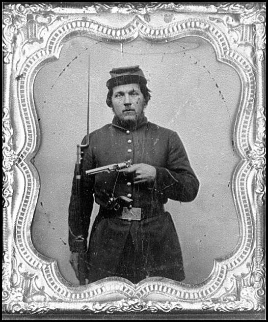 [Portrait of Pvt. George F. Norris, Company K, 5th Vermont Infantry, U.S.A.]