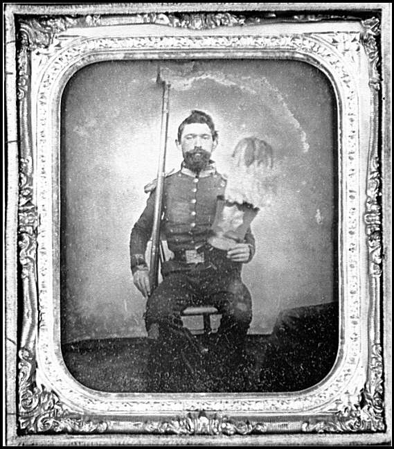 [Portrait of Pvt. Andrew F. Skidmore, Mount Vernon Guards, Company E, 17th Virginia Infantry, C.S.A.]