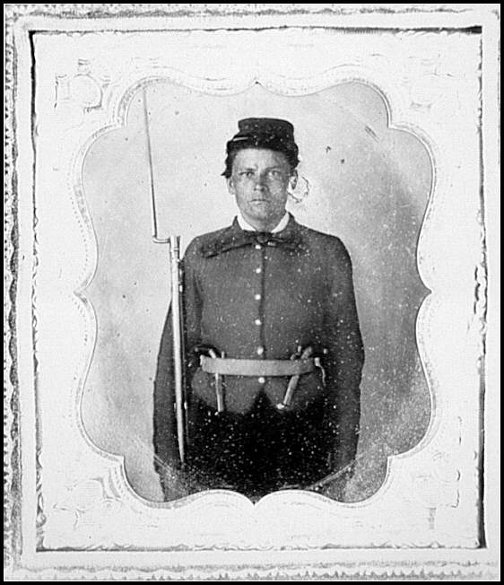 [Portrait of Pvt. William S. Askew, Company A, (Newman Guards) 1st Georgia Infantry, C.S.A.]