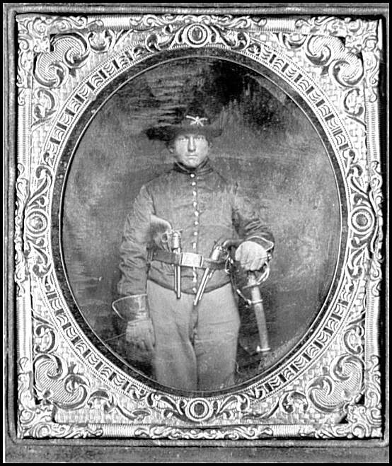 [Portrait of a Federal cavalryman]