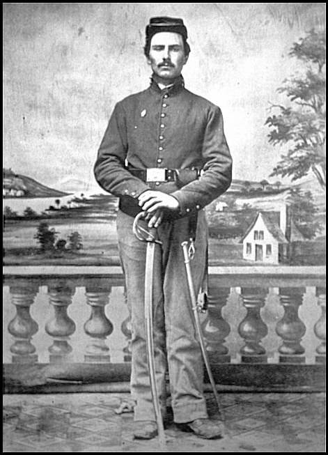 [Portrait of a soldier of the 1st District of Columbia Cavalry?]