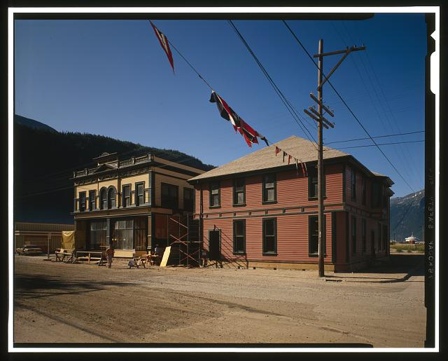 RAILROAD BUILDING AND DEPOT - City of Skagway, Skagway, Skagway-Hoonah-Angoon Census Area, AK