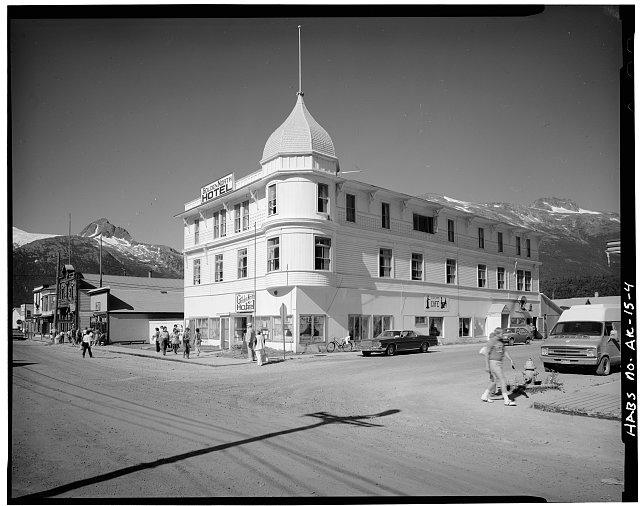 4.  GOLDEN NORTH HOTEL (1898), SOUTHWEST CORNER - City of Skagway, Skagway, Skagway-Hoonah-Angoon Census Area, AK