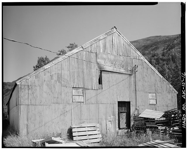 16.  WAREHOUSE, FIFTH AVENUE - City of Skagway, Skagway, Skagway-Hoonah-Angoon Census Area, AK