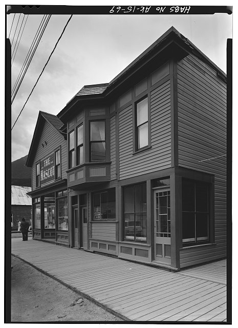 69.  MASCOT SALOON, BROADWAY AND FOURTH AVENUE - City of Skagway, Skagway, Skagway-Hoonah-Angoon Census Area, AK