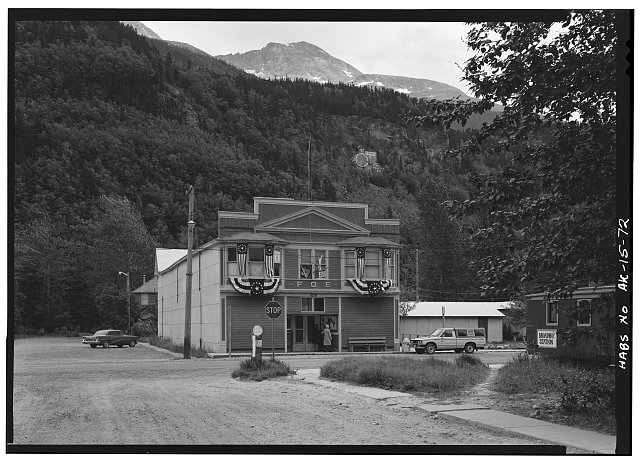 72.  FRATERNAL ORDER OF EAGLES HALL, BROADWAY AND SIXTH - City of Skagway, Skagway, Skagway-Hoonah-Angoon Census Area, AK