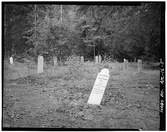 5.  SLIDE CEMETERY, LOOKING WEST - Town of Dyea, Skagway, Skagway-Hoonah-Angoon Census Area, AK
