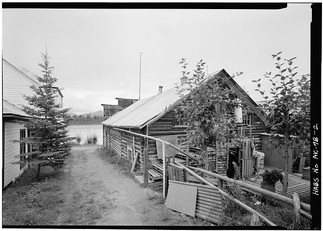 2.  REAR, LOOKING EAST - Northern Commercial Company, Store, 220 Front Street, Eagle, Southeast Fairbanks Census Area, AK