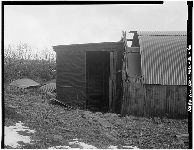 6.  ARCTIC ENTRYWAY TO 16' X 36' QUONSET HUT - Fort Randall, Neuro-Psychiatric Ward, Northeast of intersection of California Boulevard & Nurse Drive, Cold Bay, Aleutian Islands, AK