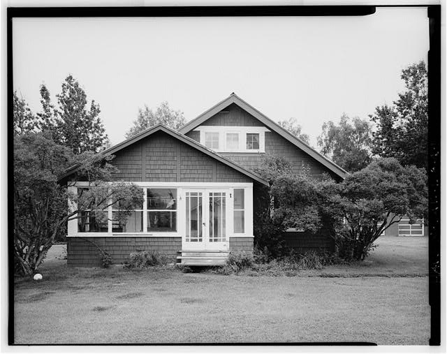 1.  FRONT - Agricultural Experiment Station, Kodiak Cottage, Matanuska Trunk Road, Palmer, Matanuska-Susitna Borough, AK
