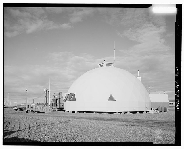 1.  GENERAL VIEW - Town Hall, Point Hope, North Slope Borough, AK