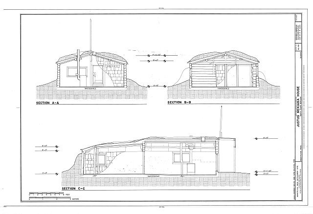 HABS AK-193 (sheet 4 of 4) - Justus Mekiana House, 3022 Main Street, Anaktuvuk Pass, North Slope Borough, AK