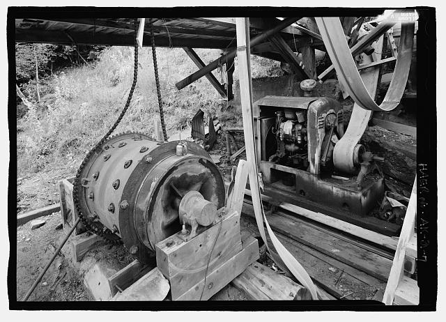 7.  90 degrees east, diesel ball crusher mill - Stampede Gold Mine, Kantishna, Denali Borough, AK