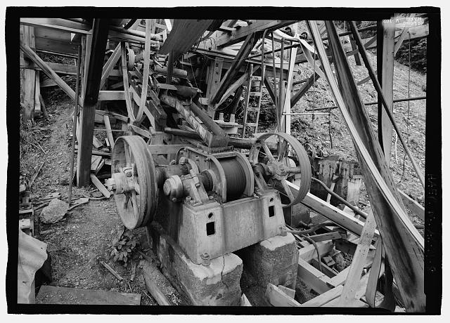 8.  Belt driven crusher, 272 degrees south of mill building - Stampede Gold Mine, Kantishna, Denali Borough, AK