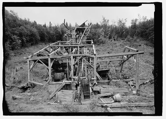 10.  Front of mill building from 150 degrees southeast - Stampede Gold Mine, Kantishna, Denali Borough, AK