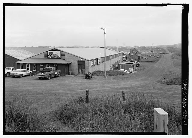 Front view, looking northeast - Alaska Commercial Company Store, Tolstoi Boulevard, Saint Paul, Aleutians West Census Area, AK