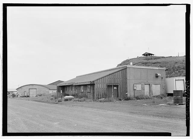 Front view, looking south - Power Plant, Haul Road, Saint Paul, Aleutians West Census Area, AK