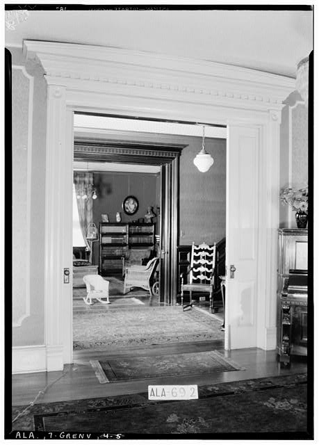5.  Historic American Buildings Survey W. N. Manning, Photographer, June 13, 1935. VIEW DOUBLE DOORS IN PARLOR - Beeland-Stanley House, 218 East Commerce Street, Greenville, Butler County, AL