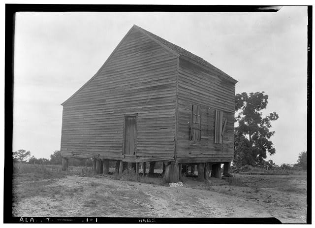 1.  Historic American Buildings Survey W. N. Manning, Photographer, June 12, 1935. OLD CRENSHAW HOUSE (USED BEFORE BUILDING PRESENT HOME) - Will Crenshaw Plantation (House), County Road 54, Greenville, Butler County, AL
