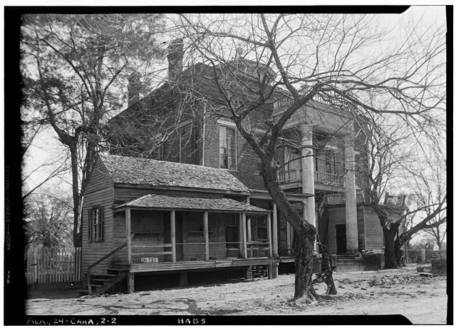 2.  Historic American Buildings Survey W. N. Manning, Photographer, March 23, 1934. REAR VIEW. - Kirkpatrick House, Oak Street, Cahaba, Dallas County, AL