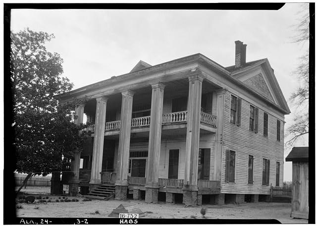 2.  Historic American Buildings Survey W. N. Manning, Photographer, March 23, 1934. REAR VIEW. - Lewis McMillan House, County Road 31, Orrville, Dallas County, AL