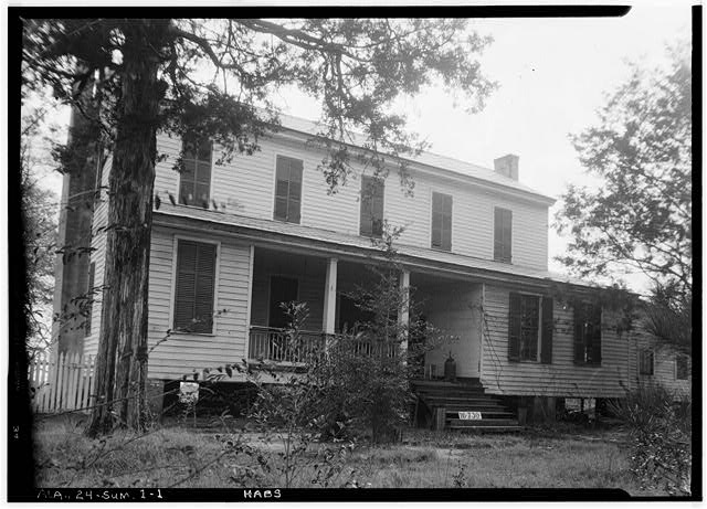 1.  Historic American Buildings Survey W. N. Manning, Photographer, March 23, 1934. FRONT VIEW. - Childers-Tate House, Centenary Street, Summerfield, Dallas County, AL