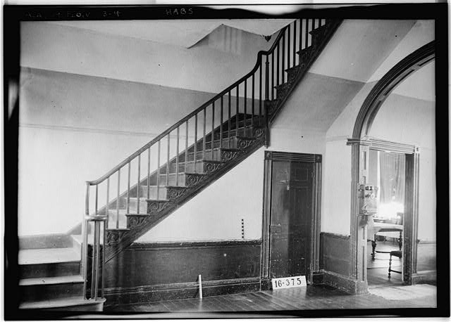 4.  Historic American Buildings Survey W. N. Manning, Photographer, FEB. 2, 1934. INTERIOR. - Forks of Cypress, Savannah Road (Jackson Road), Florence, Lauderdale County, AL