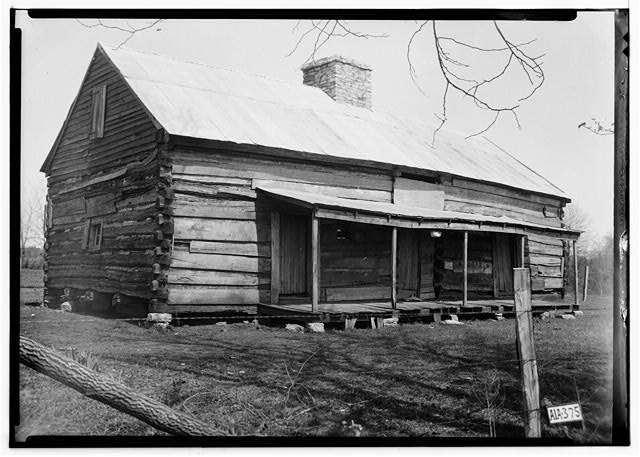 21.  Historic American Buildings Survey Alex Bush, Photographer, MarcH 27, 1935 OLD SLAVE HOUSE - Forks of Cypress, Savannah Road (Jackson Road), Florence, Lauderdale County, AL