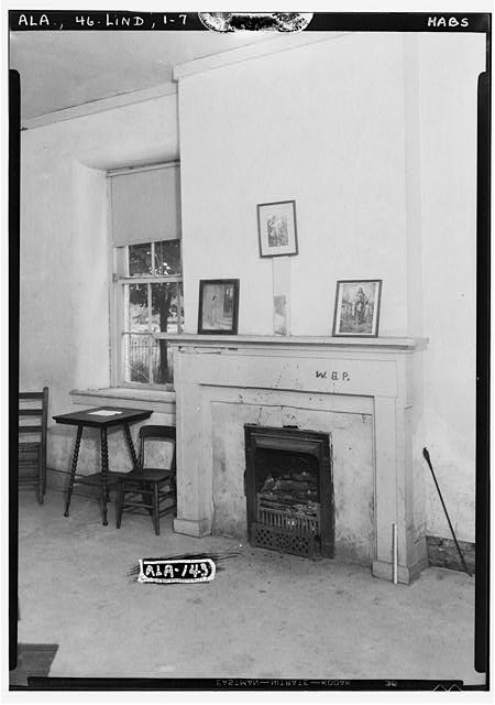 7.  Historic American Buildings Survey Alex Bush, Photographer, June 13, 1935 FRONT, NORTH WEST, ROOM ON BASEMENT FLOOR - Old Marengo County Courthouse, Cahaba Avenue & Mobile Street, Linden, Marengo County, AL