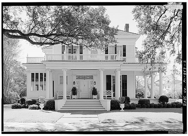 2.  NORTH (FRONT) ELEVATION - Schley-Rutherford House, 1263 Selma Street, Mobile, Mobile County, AL