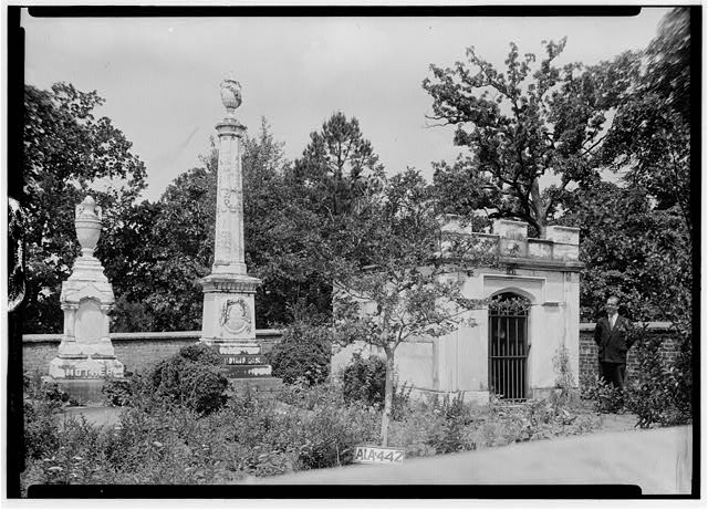 17.  Historic American Buildings Survey Alex Bush, Photographer, May 9, 1935 OLD GRAVEYARD, ® MI NORTH OF HOUSE - Mount Ida, County Road 11, Sylacauga, Talladega County, AL