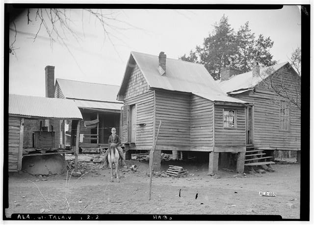 2.  Historic American Buildings Survey Alex Bush, Photographer, February 4, 1937 EAST ELEVATION (REAR) - Mardis House, U.S. Highway 231, Talladega, Talladega County, AL
