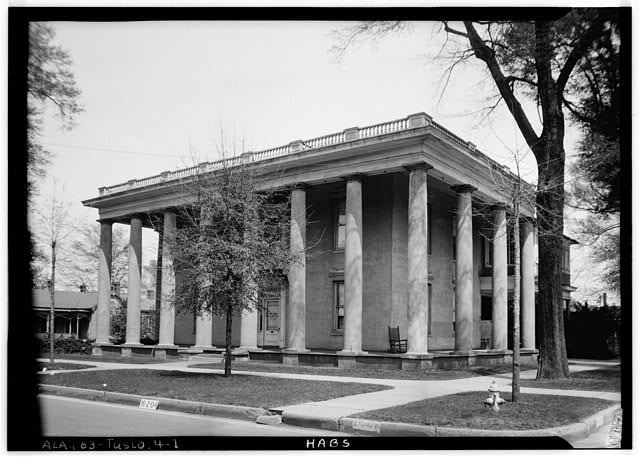 1.  Historic American Buildings Survey W. N. Manning, Photographer, April 3, 1934. FRONT VIEW. + SOUTH SIDE - Eddins House, 919 Greensboro Avenue, Tuscaloosa, Tuscaloosa County, AL