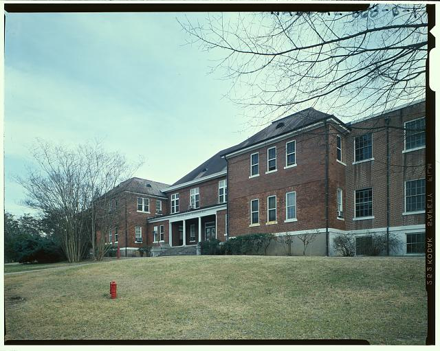 Exterior view - Tuskegee Institute, Margaret Murray Washington Hall, Tuskegee, Macon County, AL