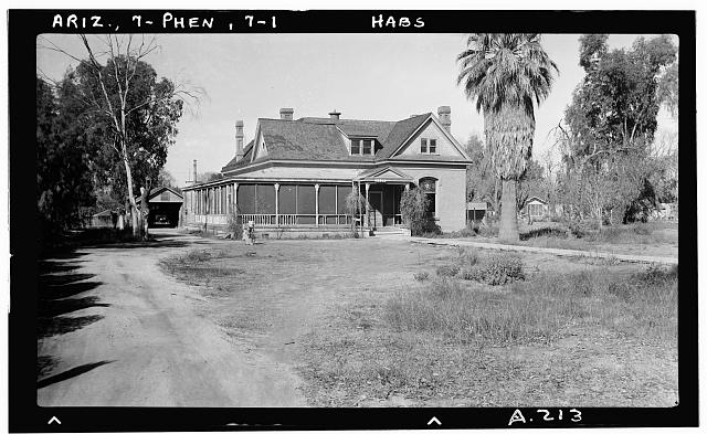 1.  Historic American Buildings Survey Delos H. Smith, photographer 1940 - 3320 North Central Avenue (House), 3320 North Central Avenue, Phoenix, Maricopa County, AZ